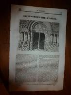 1835 LM : St-Trophyme D'Arles;Les Ruches Du Nil;Pierre Le Grand à Saardam;ENVOULTEMENT; Canova ,de Possagno (Venise); - Vieux Papiers