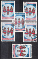 MADAGASCAR Lot Varié De Timbres Poste Oblitérés - Taona - Madagascar (1960-...)