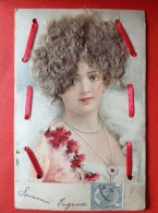 FEMME ELEGANTE AVEC VRAI CHEVEUX - DAME MET ECHTE HAREN - LADY WITH REAL HAIR - Mode
