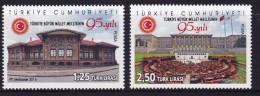 TURKEY, 2015, MNH,NATIONAL ASSEMBLY, 2v - Architectuur