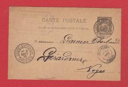 Carte Postale   / De  Castelsarrasin  / Pour Gerardmer  /  9 Septembre 90 / - Paketmarken