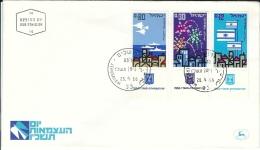 FDC Israel 1966 - Sceau Postal De Jérusalem - Israel