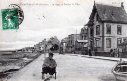 14 Grandcamps La Plage, Le Perré Et Les Villas 1913 - France