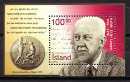 Iceland 2002 Islandia / Nobel Halldor Kiljan MNH / Ip38 36 - Premio Nobel