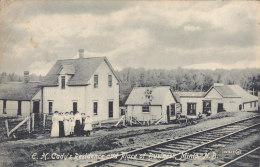 E.H. Cady's Residence And Place Of Business, Minto, NB (Coal Mine...1914) - Nouveau-Brunswick