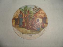 ANCIEN CHROMO / CONGO BELGE N° 103 / COLLECTION  LA  VACHE  QUI RIT - Obj. 'Souvenir De'