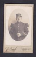 Photo Ancienne CDV Phot. Gabriel Commercy Meuse  Militaire Du 25è 25 Regiment Infanterie De Ligne Ou Artillerie ? - Guerre, Militaire