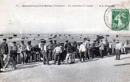 14 Grandcamp Les Bains En Attendant La Marée 1913 - France