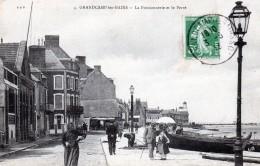 14 Grandcamp Les BainsLa Poissonnerie Et Le Perré 1913 - France