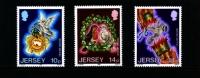JERSEY - 1986  CHRISTMAS  SET  MINT NH - Jersey