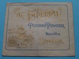 The IMPERIAL Pudding Powder ( Salon Et Expo Anvers/Bruxelles )  ( Omslag 11,5 X 9,5 Cm. / Zie Foto´s ) !! - Advertising