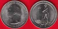 """USA Quarter (1/4 Dollar) 2013 D Mint """"Perry's Victory"""" UNC - 2010-...: National Parks"""