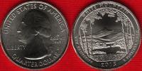 """USA Quarter (1/4 Dollar) 2013 D Mint """"White Mountain"""" UNC - Émissions Fédérales"""