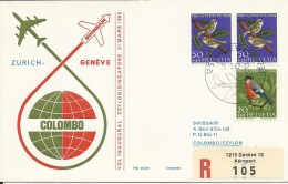 RF 69.1, Genève - Colombo, Coronado - Sri Lanka (Ceylan) (1948-...)