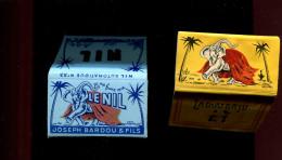 BTDIV1 Lot De 2 Carnets Le Nil Feuilles à Rouler, Illustrateur Capiello - Cigarettes - Accessoires
