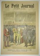 Le Petit Journal N°252 Du 15/09/1895 Interdiction Des Courses De Taureaux Dans Le Midi, Mazzantini/Lord Maire De Londres - 1850 - 1899