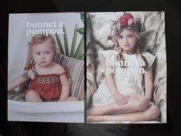 Bonnet A Pompon Kids Fashion Lot De 2 Cartes - Publicidad