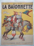 LA BAÏONNETTE :N° 20 .18 NOVEMBRE 1915 : L' AGENCE WOLFF .. N° SPECIAL .. - 1901-1940