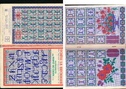 TOUTE LA BRODERIE Numéro Spécial Hors Série Alphabets Au Point De Croix N° 10 - Ed Egé 1964 - Punto Croce