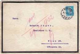 DEUTSCHES REICH 1932 - 4 Rpf Auf Brief Gel.Nürnberg > Wien - Griechenland