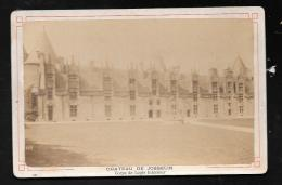 Chateau De Josselin - Corps De Logis Intérieur ( Anonyme )   9,4cm X 14,7 Cm - Pma1308 - Ancianas (antes De 1900)