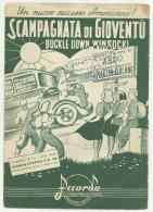 SCAMPAGNATA DI GIOVENTU' EDIZIONI MUSICALI MILANO - Partitions Musicales Anciennes