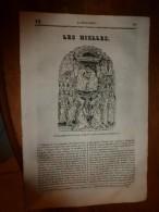 1835 LM : Les NIELLES En Italie (texte Et Gravure); John Knox à Glasgow (gravure); Le Goëland (texte Et Gravure) - Vieux Papiers