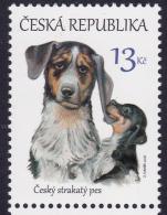 CZECH REPUBLIC, 2016, MNH,DOGS, PUPPIES,  1v - Hunde