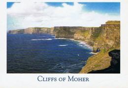 CPM..IRLANDE..EIRE..CLIFFS OF MOHER..TIMBRE EIRE..IRLANDE..A VOIR - Irlande
