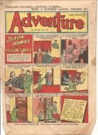ADVENTURE Every Thursday N°1296 Nov 5th 1949 DIXON HAMKE AND THE YELLOW GHOST - Bücher, Zeitschriften, Comics