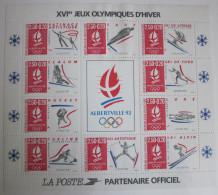 France - Bloc Jeux Olympiques - Alberville - 1992 - YT BF14 Neuf - Blocs & Feuillets