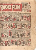 RADIO FUN Every Thursday N°570 September 10th 1949 JEWEL & WARRIS OUR CRAZY COUPLE OF COMICS - Bücher, Zeitschriften, Comics