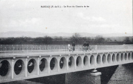 63 - RANDAN -   CPA - Le Pont Du Chemin De Fer - France