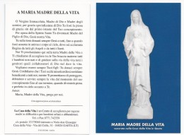 Maria Madre Della Vita - Gaeta - B.5 - Santini