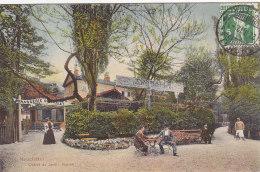Neuchâtel - Châlet Du Jardin Anglais (animation, Colorisée, Ed. Timothée Jacot, 1912) - NE Neuchatel
