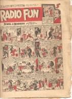 RADIO FUN Every Thursday N°635 Décember 9th 1950 JEWEL & WARRIS OUR CRAZY COUPLE OF COMICS - Bücher, Zeitschriften, Comics