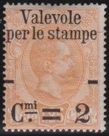 Italy              Yvert     50             *                   Mint-hinged  /   Ongebruikt Met Plakker - 1878-00 Umberto I