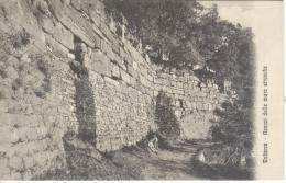 VOLTERRA Avanzi Mura Etrische Ed. 7535 G. Sborgi Non Viaggiata Anni 20 - Pisa