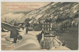 Hiver à Les Les Bains Hotel Descoux Route De Bosost Invierno En Les Carretara De Bosost Edit Du Pensionnat - Otros Municipios