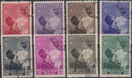 Belgica 1937 Nº 447/54 Usado - Bélgica