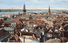 RIGA  -  VUE GENERALE -  Mars 1918 - Lettonie