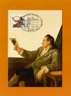 BRD 1982  Mi.Nr. 1121 , Johann Wolfgang Von Goethe - Hagenbach Maximum Karte - SS Frankfurt /Main 22.03.1982 - Maximumkarten (MC)