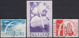 Belgica 1960 Nº 1147/49 Usado - Bélgica