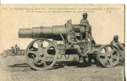 LA GRANDE GUERRE DE 1914-15  -   MORTIER AUSTRO-ALLEMAND DE 320 - Weltkrieg 1914-18
