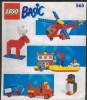 Plan  Lego System  565  Basic  De 1990 - Planos