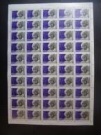 RUSSIA 1979 MNH (**)YVERT 4582  Аlbert Еinstein .la Feuille De 5x10.