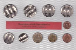 Deutschland 2000 - Set Entwerteter DM Kursmünzen Satz - Otros