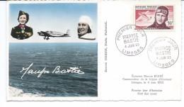 """PA34 - MARYSE BASTIE  - Avec Texte Au Dos """"citation à L'ordre De La Nation""""  TBE - 1950-59"""