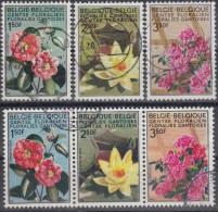 Belgica 1970 Nº 1523/25 + 1523A/25A Usado - Bélgica