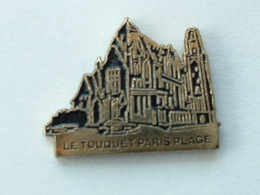 Pin´s LE TOUQUET PARIS PLAGE  - EGLISE - Villes